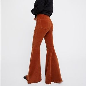 Free People Just Float On Cord Flares